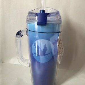 16 oz or 24 oz Insulated Thermos Tumbler Travel Mug Cup with Wawa logo on them